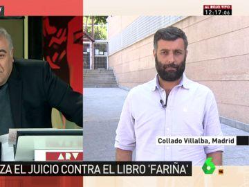 """Nacho Carretero ironiza con la situación de 'Fariña': """"Hay un 'contrabando' del libro, un metacontrabando"""""""