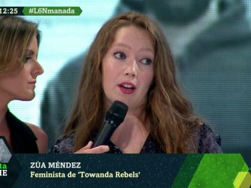 Zua Méndez ha creado el canal feminista Towanda Rebels