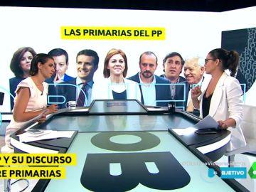 El PP y su discurso sobre la celebración de primarias