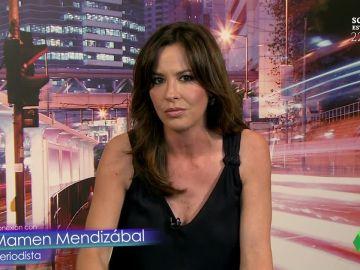 Mamen Mendizábal y las reacciones al estreno de Scoop con 'Qatargate'