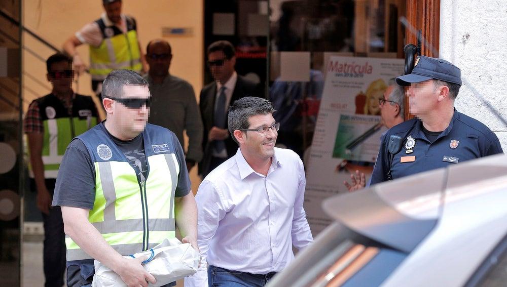 El alcalde de Ontinynet y presidente de la diputación de Valencia, Jorge Rodríguez