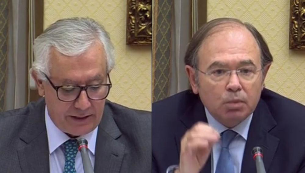 Javier Arenas y Pío García Escudero