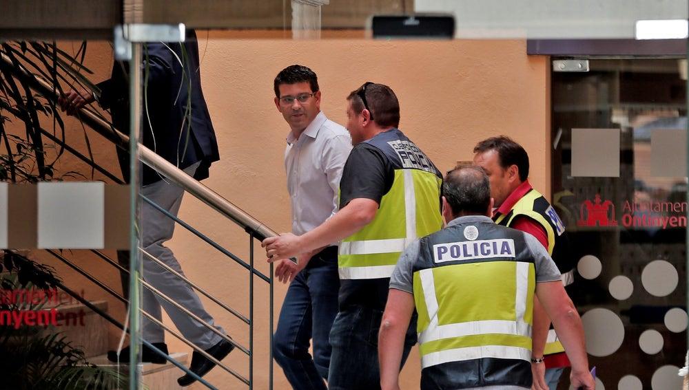 El alcalde de Ontinyent y presidente de la diputación de Valencia, Jorge Rodríguez