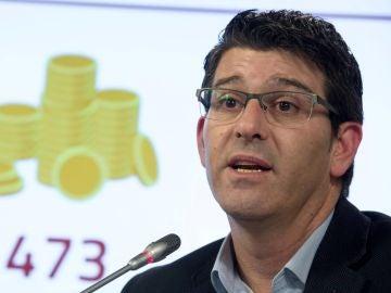 El presidente de la Diputación de Valencia y alcalde de Ontinyent, Jorge Rodríguez