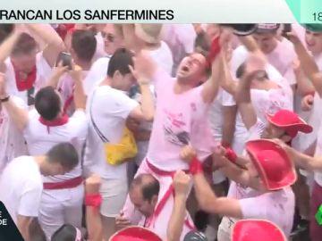 Arrancan los Sanfermines más reivindicativos cargados de fiesta y emoción en Pamplona