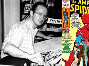 Steve Ditko co-creador de Spiderman