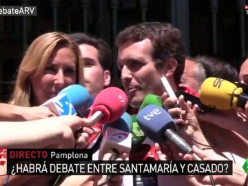 """Pablo Casado responde a los abucheos en Pamplona: """"Los 'batasunos' y proetarras no nos van a impedir hablar"""""""