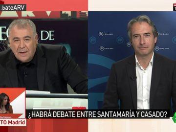 """Íñigo de la Serna: """"Casado estuvo siempre de acuerdo con las decisiones que tomaba el Gobierno [de Rajoy]"""""""