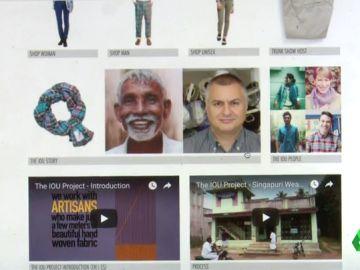 La plataforma 'IOU PROYECT' permite conocer la procedencia de las prendas