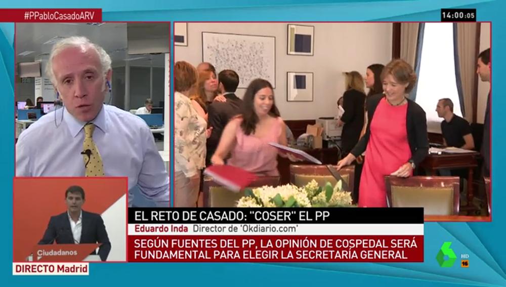 Eduardo Inda en Al Rojo Vivo