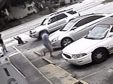 Asesinato en un parking