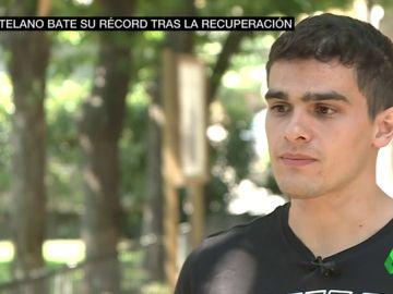 """Bruno Hortelano, emocionado al recordar su accidente: """"Me sentí perdido"""""""