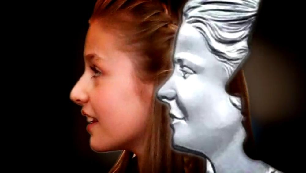 Polémica por una moneda conmemorativa en la que aparece la princesa Leonor