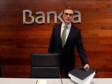 El consejero delegado de Bankia, José Sevilla, en una imagen de archivo.