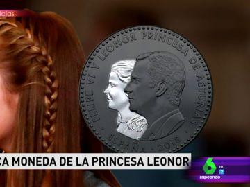 La polémica moneda de Leonor