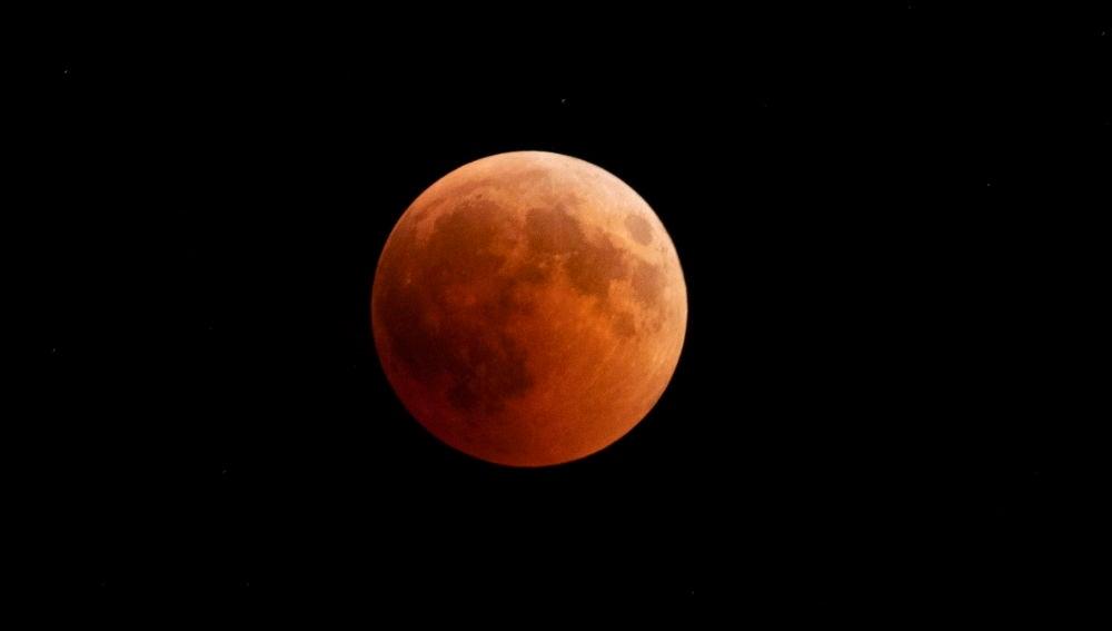 Eclipse lunar en Turquía