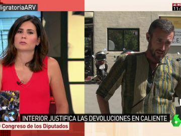Carlos Lorente, educador social en Ceuta