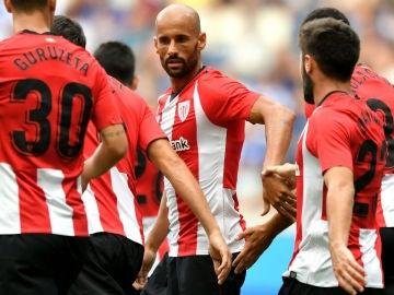Mikel Rico, con el Athletic