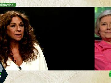 La de Tina Sáinz y Lola Flores, toda una vida entre escenarios que vieron en ellas el 'duende' de la interpretación y el éxito