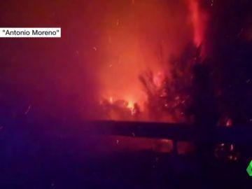 El incendio de Málaga se estabiliza