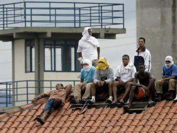 Imagen de archivo de presos en Brasil
