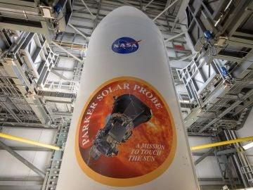 Imagen de la sonda solar Parker, primera astronave que transitará por la corona del Sol