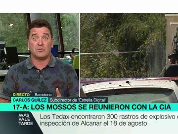"""En Alcanar había 300 rastros de explosivos pero los Tedax no se percataron: """"No se acaba de entender. Había mucha información bajo esos escombros"""""""