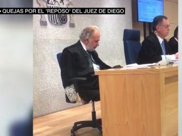 """Quejas por el 'resposo' del juez de Diego durante las sesiones de la Gürtel: """"Esta sentencia se ha dictado en unas condiciones lamentables"""""""