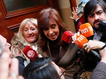 La expresidenta de Argentina Cristina Fernández