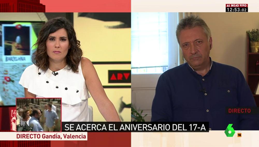 """Roberto Manrique denuncia el trato que reciben las víctimas del terrorismo: """"El follón político ha tapado la situación de las víctimas de Barcelona y Cambrils"""""""