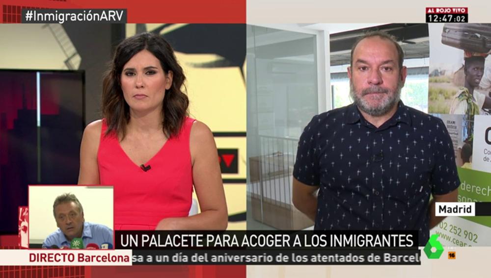 """""""Los que cumplan las condiciones podrán estar en estos centros unos 15 días"""": CEAR explica cómo acogerán a los migrantes en el palacete de Tres Cantos"""