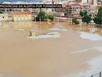 Hay 15 provincias en alerta por fuertes tormentas: la Comunidad Valenciana la más afectada