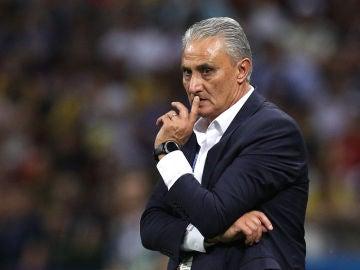 El seleccionador brasileño, Adenor Leonardo Bacchi, Tite.