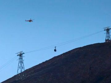 Imagen del teleférico del Teide