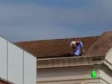 Imprudencia de un paciente del Hospital La Fe de Valencia