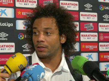 """Marcelo: """"Me ha sorprendido el cambio, no lo entiendo pero respeto la decisión del míster"""""""