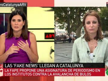 """Andrea Levy, sobre la guerra de símbolos: """"En Cataluña no hay proporcionalidad entre lo que sufrimos unos y lo que sufren otros"""""""