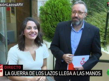 """Ciudadanos pedirá amparo al Defensor del Pueblo para los catalanes """"indefensos"""" por retirar lazos amarillos"""