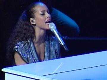 Alicia Keys en concierto