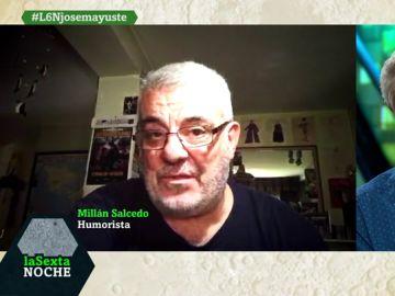 Millán Salcedo manda un mensaje a Josema Yuste