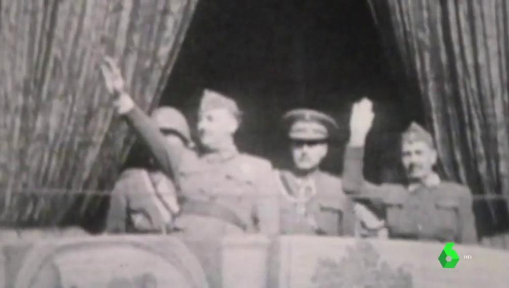 El dictador Francisco Franco en una imagen de archivo.