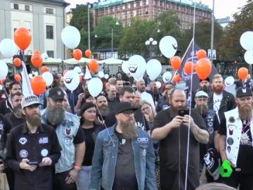 Celebración del Día Mundial de la Barba en Estocolmo