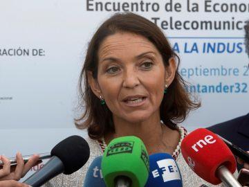 La ministra de Industria Comercio y Turismo, Reyes Maroto