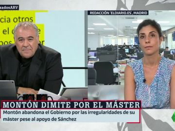"""Raquel Ejerique, sobre el máster de Carmen Montón: """"El instituto de la Rey Juan Carlos era un chiringuito a nivel económico y académico"""""""