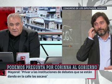 """Rafael Mayoral: """"Nadie va a cerrarle la boca a la gente ni a los medios. La ley del silencio en torno a la monarquía ha terminado"""""""