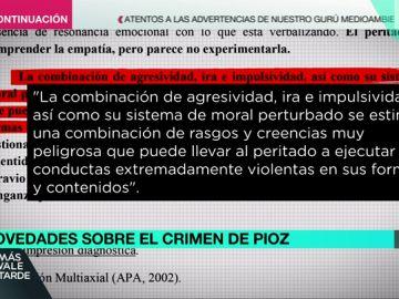 """Expediente Marlasca accede al informe médico de Patrick Nogueira: """"Hay impulsividad y agresividad incontrolable en situaciones de estrés"""""""