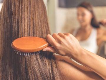 Cepillado del cabello
