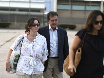 El empresario José Luis Ulibarri abandona la cárcel de Soto del Real