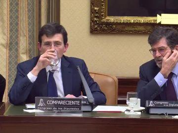 Manuel Arenilla durante una comparecencia