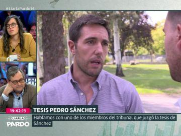 Ricardo Rejas, miembro del tribunal que juzgó la tesis de Sánchez
